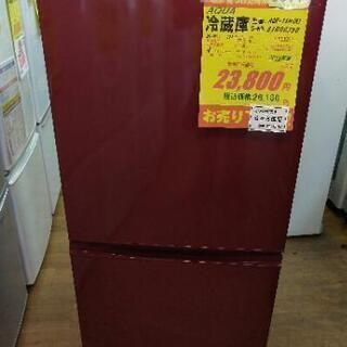 J077★6ヶ月保証★2ドア冷蔵庫★AQUA AQR-16H(R...