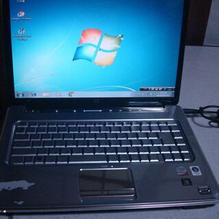 HP pavilion dv5 windows7 ノートPC