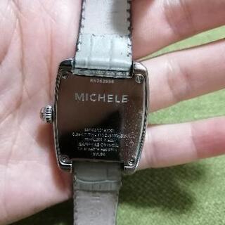 Michele ダイヤモンド腕時計 - 服/ファッション