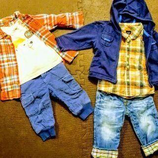 BabyGAP 男の子用 80cm 秋冬用長袖セット