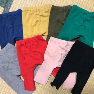 子ども服ズボン モンキーパンツ8枚セット 70〜80