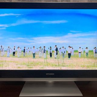 【稼働品】MITSUBISHI 32型 液晶テレビ リモコン付き...