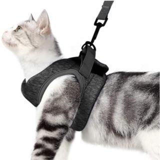 猫用ハーネス 犬猫兼用 散歩用リード