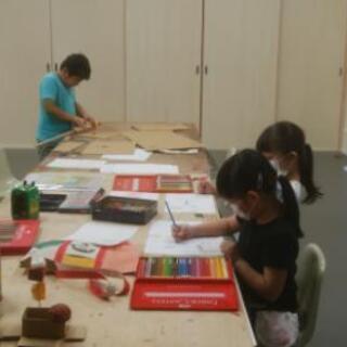 小学生 絵画工作教室
