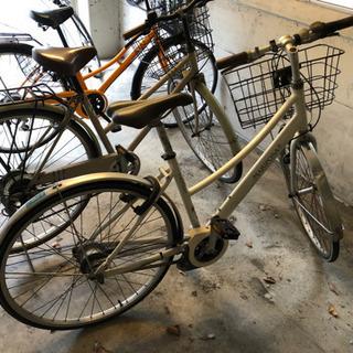 ギア付き自転車