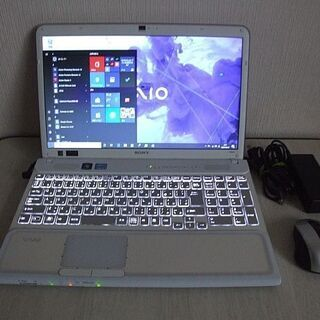 高速SSD240GB搭載 光るキーボード 第二世代 Core i...