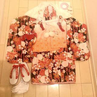 七五三 3歳用 女の子着物フルセット