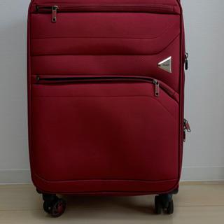 スーツケースソフト素材中古