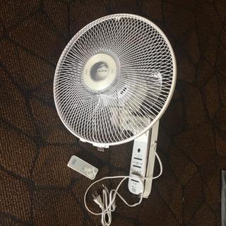 ユーパ(EUPA) 壁掛け扇風機 リモコン式