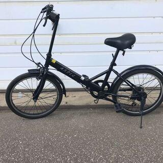 (北見市民限定)折畳自転車/黒(北見市廃棄物対策課・リユース品)...