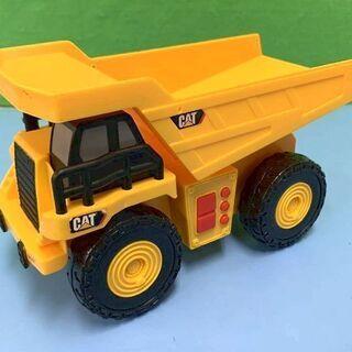 JM8351)ミニカー CAT ダンプ 黄色 横幅:約8c…