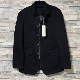 (8)新品 コムサデモード風 男性用 ジャケット 黒
