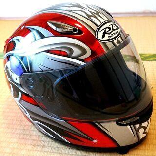 バイク用フルフェイスデザインヘルメット