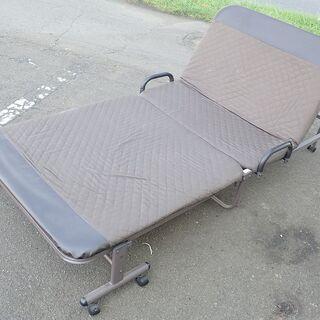 札幌 折り畳みベッド シングルサイズ まあまあ 中古
