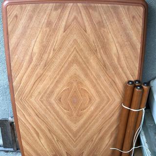 木製ダイニングテーブル 大判中古良品