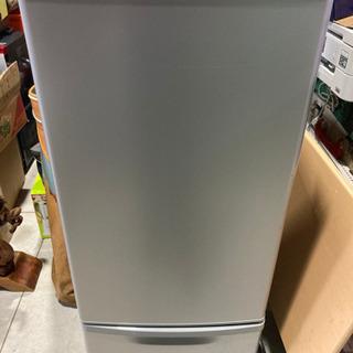Panasonic 168L 2ドア冷凍冷蔵庫 NR-B179W...