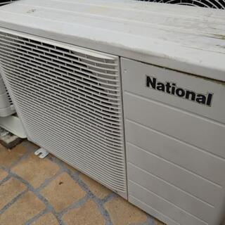 🔵ナショナル ルーム エアコン 2004年製 室内機 意外と美品❗️ − 静岡県