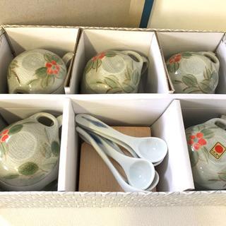 ☆激安‼️茶碗蒸しセット陶器セット★