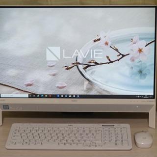 富士通 PC-DA700/KAW デスクトップ一体型 テレビ視聴可能