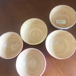 木のお椀セット − 兵庫県