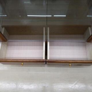 【値下げ】ガラスショーケース 80×81×181cm 福岡糸島唐津 0924-01 - 売ります・あげます