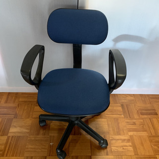 OA チェア サンワ サプライ ブルー  椅子