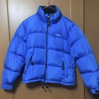 BEAR USA メンズL ダウンジャケット ブルー 90's