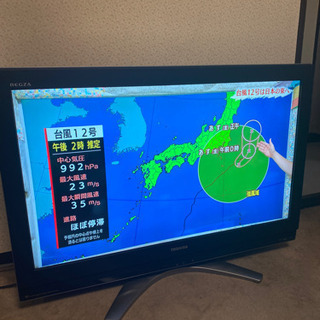 【HDD内蔵】TOSHIBA*REGZA*37型*録画機能付き