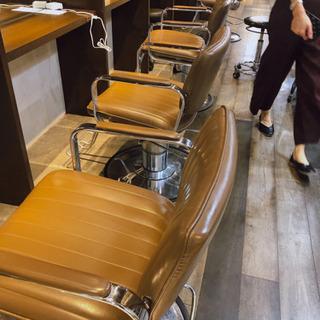 美容室セット椅子