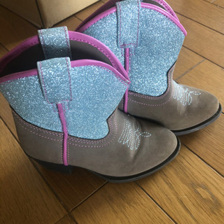 15cm western boots 子供