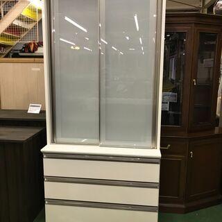 シギヤマ家具工業 スライド扉食器棚
