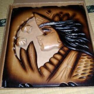 アイヌ民芸品(壁飾り)