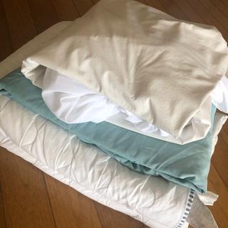 IKEA フルサイズ ベッドカバーセット