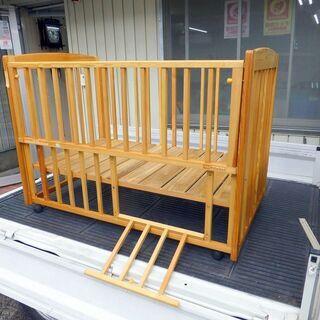 価格変更しました。ヤトミ産業 ハピネスベビーベッド 中古 − 鳥取県