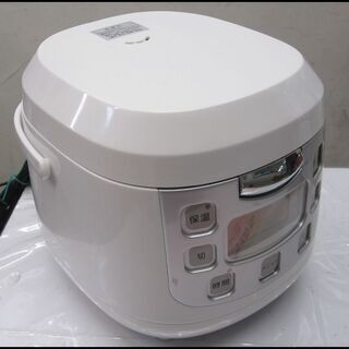 新生活!3300円 アズマ 3,5合炊き 炊飯器 ホワイト