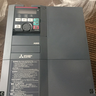 (未使用)三菱インバータ (FR-A820-5.5K-1)
