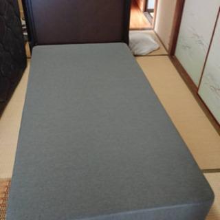 【美品🌟シモンズ】マットレス付きシングルベッド 5.5インチエクストラハードマットレス ダブルマット(定価 12万円位)💳自社配送時🌟代引き可💳※現金、クレジット、スマホ決済対応※ - 売ります・あげます