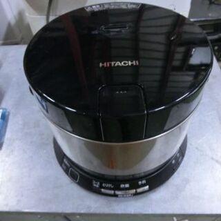 【ネット決済】B412 日立 IH 炊飯器 2合 ブラウンゴール...