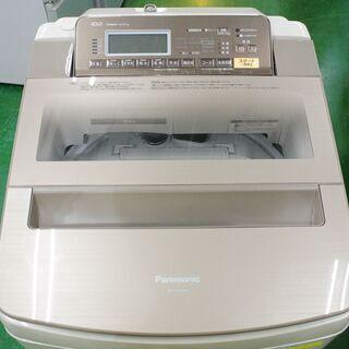 ファミリー向け10kg洗濯乾燥機!パナソニック NA-FW100S3 当店の不具合時返金保証6ヵ月付き! - 家電