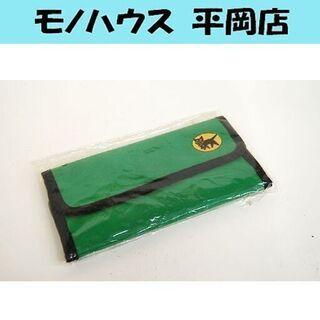 新品 クロネコヤマト 長財布 グリーン/緑 財布 クロネコ…