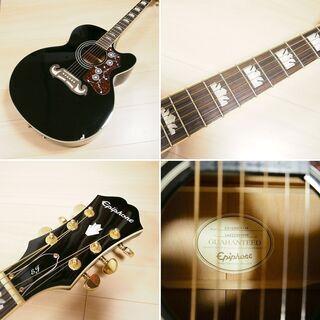【美品訳あり】 Epiphone アコースティックギター EJ200CE - 大津市