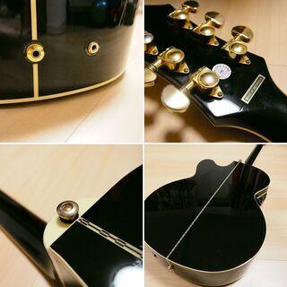 【美品訳あり】 Epiphone アコースティックギター EJ200CE − 滋賀県