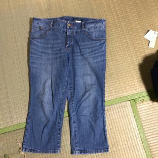 クロップドパンツ 19号 100円