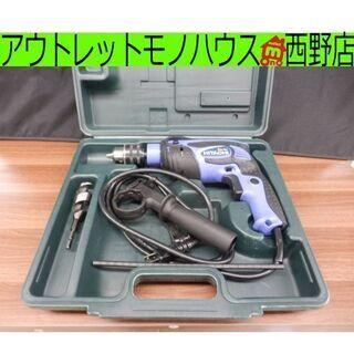 振動ドリル 日立工機/HITACHI 無段階変速 電動工具 DI...