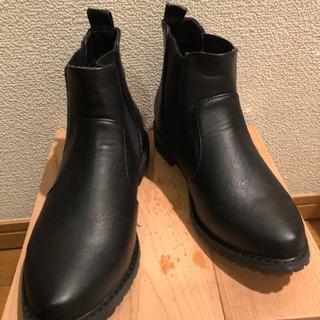 ショートブーツ ブラックS