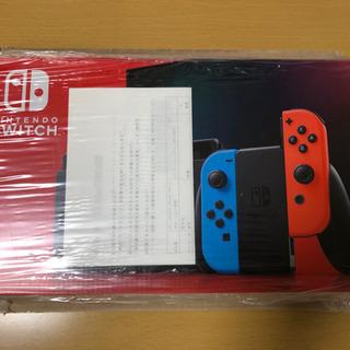 【新品・未開封】Nintendo Switch(ネオンブルー・レ...