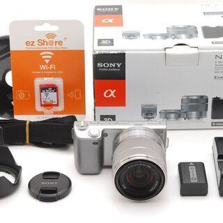 ◆スマホ転送◆ソニー NEX-5 18-55mm レンズキット