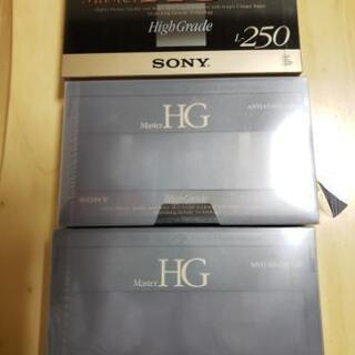 SONY Beta ビデオカセットテープ 未使用