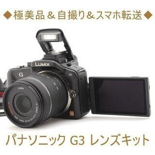 ◆極美品&自撮り&スマホ転送◆パナソニック G3 レンズキット ...