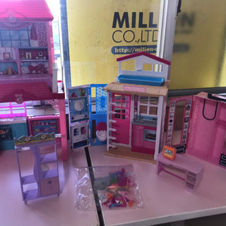 【閉店セール】Barbie お家セット